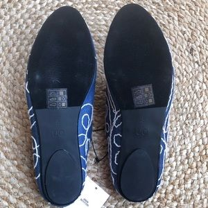 Urban Outfitters Shoes - NWT Urban Outfitters embroidered denim mules